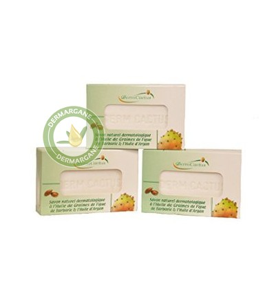 Set of 3 Anti Wrinkles / Dark Circles / Hyperpigmentation Soaps. Dermatological Natural Soaps